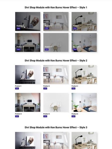 5 shop module