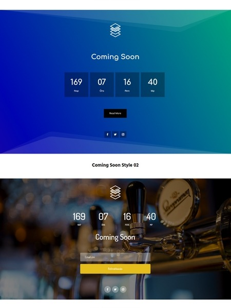 Coming Soon 10 – Coming Soon Page Bundle